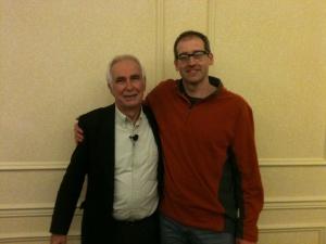 Dr. Ian Dunbar and myself